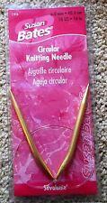 Susan Bates Silvalume 16 inch Circular Knitting Needles sz 10