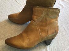 Women's Frye Steffi Zip short boots size 10