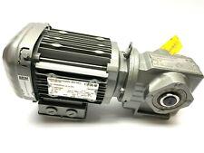 SEW SA37 DRS71M4 Gray Eurodrive Gear Motor 1690/59 RPM 3PH 80ft/Min 20mm Shaft