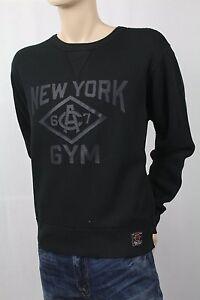 Children POLO Ralph Lauren Black New York Gym Fleece Sweatshirt NWT $99