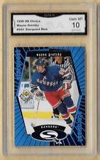 1998 UD Choice Starquest Blue SQ1 Wayne Gretzky GMA 10 GEM MT