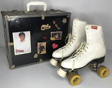 VINTAGE CHICAGO ROLLER SKATE Co. WOMAN'S ROLLER SKATES WITH ORIGINAL CASE SIZE 8