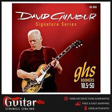 GHS David Gilmour Signature Red Set Boomers Electric Guitar Strings 10.5-50