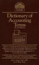 Dictionary of Accounting Terms (Barron's Business Guides) Siegel, Joel G., Shim