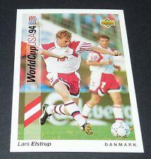 LARS ELSTRUP OB DANMARK FOOTBALL CARD UPPER DECK USA 94 PANINI 1994 WM94