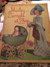 """SHIRLEY TEMPLE AT PLAY (AUTHORIZED EDITION) """"1935"""" GREAT CONDITION!!"""