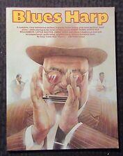 2008 BLUES HARP Instruction Method by Tony Glover SC VF 8.0 72pgs