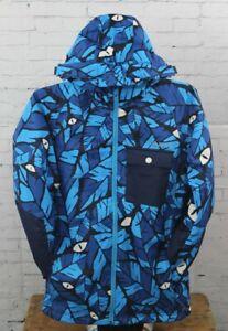 O'Neill Boys Youth Kicker Snowboard Jacket Size 10 / 152 Blue AOP New