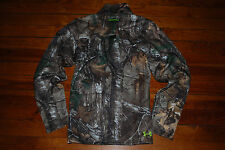 NEW Men's Under Armour Camo Scent Control Hunting RealTree Jacket (Medium)