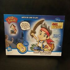 Uncle Milton Wall Friends Jake and the Never Land Pirates Talking Room Light New