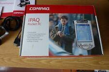Compaq iPAQ 3870, H3870 Pocket PC + Zubehör, Windows, SD, USB PDA