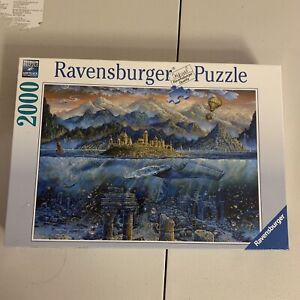 "Wisdom Whale 2000 Piece Jigsaw Puzzle by Ravensburger size of 38.75"" x 29.5"""