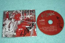 Pink P!nk Maxi-CD Sober - UE 4-track CD incl. Remix + When We're Through