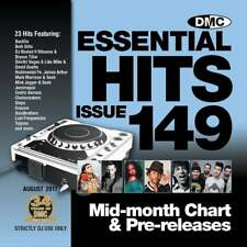 DMC Essential Hits 149 Chart Music DJ CD - Latest Releases of Radio Edit Tracks