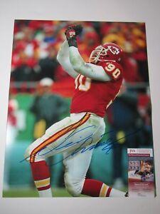 Kansas City Chiefs Neil Smith Signed Autographed 16x20 Photo JSA