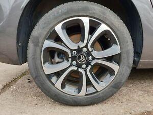 """Citroen Grand C4 SpaceTourer 2019 17"""" Alloy Wheel & Tyre Full Set 205 55 R17"""