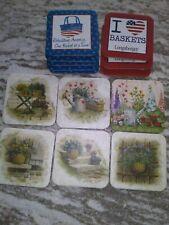Longaberger Rare Lot of 14 Coasters Free Shipping!