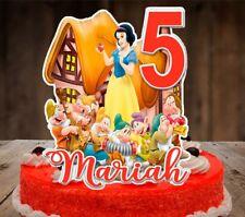 Disney Princess Snow White and The Seven Dwarfs Cake Topper
