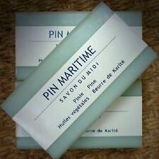 Savon du Midi 3er Pack Pin Maritime Karité-Seife Naturkosmetik Pinie Kiefer Shea