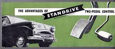 Standard Standrive Transmission c1958 UK Market Small Format Sales Brochure Ten