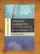 First Semester Topics: Organic Chemistry as a Second Language : First Semester T