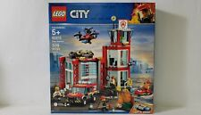 Lego City Fire Station Building Toy Set 509pcs 60215
