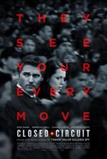 CLOSED CIRCUIT MOVIE POSTER 2 Sided ORIGINAL 27x40 ERIC BANA