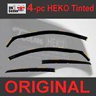 FORD FOCUS mk2 Hatchback Saloon 4/5-Doors 2004-2010 Wind Deflectors Heko Tinted