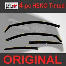 TOYOTA AVENSIS MK3 Estate 2009-onwards 5-doors 4-pc Wind Deflectors HEKO Tinted
