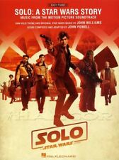 Solo A Star Wars Story Easy Piano Music from the Soundtrack Sheet Music Book Han