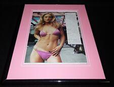 Teri Polo 2001 Bikini Framed 11x14 Photo Display