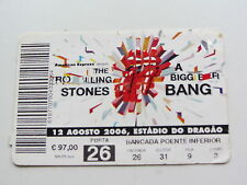 The Rolling Stones ticket 12TH Août 2006, Stade do Dragao, Portugal
