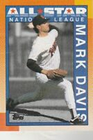 FREE SHIPPING-MINT-1990 Topps #407 Mark Davis All-Star Padres