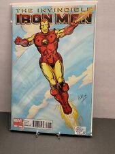 Invincible Iron Man #25 1:50 Cover Variant Herb Trimpe - 2010 Marvel Comics 8.5