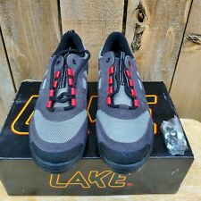 New Lake MX60 Lace-Up Mountain Bike Shoes 2-Bolt Cleat Men's US 6 EU 39.5