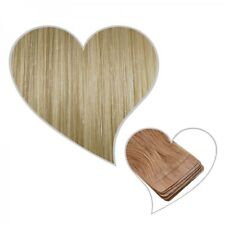 10 Tramas ADHESIVOS RUBIO Champagne #22 60cm 25g CABELLO NATURAL SKIN WEFT