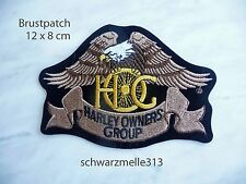 Harley Davidson ORGINAL HOG Patch Aufnäher  NEU
