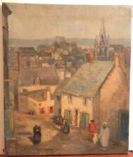 OLD ANTIQUE Listed Artist Fine Art OIL PAINTING artwork French impressionism $$$