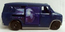 Blue Van With Pegasus Horse Toy Moon