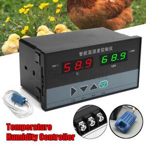 Egg Incubator Digital Automatic Hatcher Chicken Egg Temperature Humidity Control