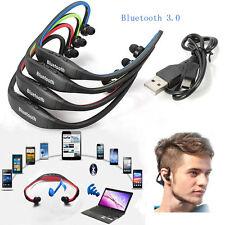 Wireless Bluetooth Stereo Sport Headphone Headset Earphone for iPhone Samsung PC