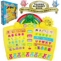 Kid Electronic Talking Book Educational Learning System Develop Baby Musical Toy