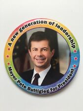 "2020 Mayor Peter Buttigieg for President 3"" Button New Generation of Leadership"
