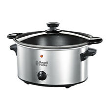 Russell Hobbs 23200 3.5L Stainless Steel Slow Cooker 220-240 Volts 50/60Hz
