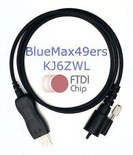 FTDI USB Programming Cable Kenwood TK-6900 TK-690  TK-790 TK-890  KPG-43