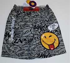 Smiley World Sufrshorts Badehose Hose  116  grau