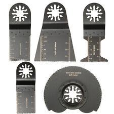 5 tlg Pendel Multifunktionswerkzeug Sägeblatt Set Für Parkside Workzone Einhell