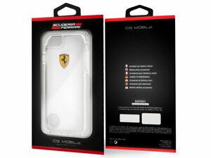 Original FERRARI Shockproof Racing Shield iPhone 8 Plus / 7 Plus Transparent