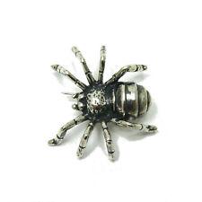 Tarantulas Genuine Solid Hallmarked 925 Sterling Silver Brooch Big Spider
