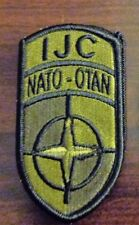 ARMY PATCH, ISAF JOINT CMD ,MULTI-CAM,SCORPION, WITH HOOK TAPE FASTENER